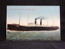 Steamer Red Star Line S.S. Zeeland__(21348) - Paquebote