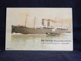Steamer Red Star Line Zeeland__(21358) - Dampfer