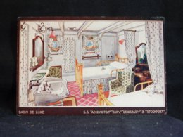 Steamer S.S. Accrington Cabin De Luxe__(21751) - Paquebote
