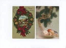 Lot 6 Cartes  Noel   Verso Tampon Retour à L'envoyeur - Noël