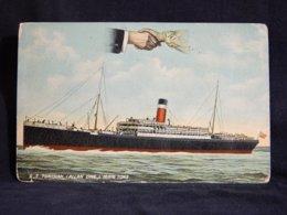 Steamer S.S. Tunisian Allan Line__(22178) - Passagiersschepen