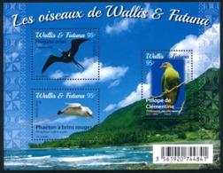 WALLIS ET FUTUNA 2016 - Yv. F861 (861 à 863) ** SUP - Feuillet Oiseaux (3 Val.)  ..Réf.W&F22362 - Wallis Und Futuna