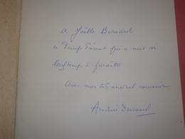 Le Temps Présent Poèmes De Toujours Par Andrée Durand, Edition Originale Numéroté LIVRE DÉDICACÉ PAR SON AUTEUR - Autographes