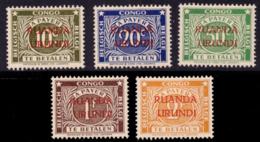 Ruanda TX 0015b/19b* Tanding 14 - - Ruanda-Urundi