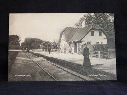 Denmark Hellebaek Station Hornbaekbanen__(20934) - Denmark