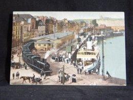 France Dieppe Vue Sur La Gare Maritime__(22335) - Dieppe