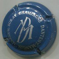 CAPSULE-CHAMPAGNE DANTENY-MANGIN N°16 Série De 12 DM, Bleu & Argent - Champagne