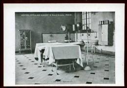 Hôpital Militaire Du ROI ALBERT - 2 Rue D' Arcole, Paris - Salle D' Opération - (Beau Plan) - Santé, Hôpitaux