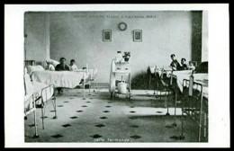 Hôpital Militaire Du ROI ALBERT - 2 Rue D' Arcole, Paris - Salle Termonde - (Beau Plan Animé) - Santé, Hôpitaux
