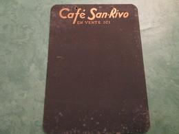 Ardoise CAFE SAN-RIVO (en Vente Ici) - Publicités