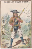 Chromo - Chocolat Félix Potin, Belle Jardinière - Vendéen 1793 - Félix Potin