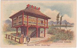 Chromo - L'habitation Humaine - Maison Slave (Moyen-Age) - Chromos