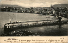 'Isle Of Man - Peel Town - Isle Of Man