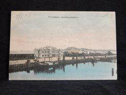 Norway Trondhjem Jernbanestation -07__(21426) - Norvège