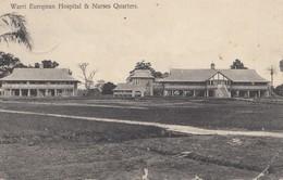 Southern Nigeria: Post Card Warri Hospital 1913 To Steinweg/Regensburg - Nigeria (1961-...)
