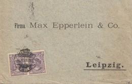 Chile: 1900: Valpariso To Leipzig - Chile