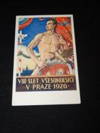 Sokol Hirsla VIII Slet Vsesokolsky 1926__(23001) - Cartes Postales