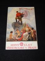 Sokol Fr. Zeniska Slet Vsesokolsky Praze__(23015) - Ansichtskarten