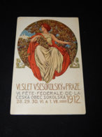 Sokol Fr. Urbana Slet Vsesokolsky 1912__(22994) - Cartes Postales