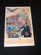 Sokol K.Stroffa Slet Vsesokolsky Sedmy -20__(23011) - Cartes Postales