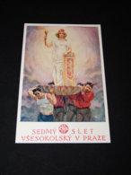 Sokol K.Stroffa Slet Vsesokolsky Sedmy__(23006) - Postkaarten