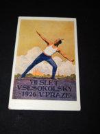 Sokol Simunka Slet Vsesokolsky VIII Praze 1926__(22984) - Cartes Postales