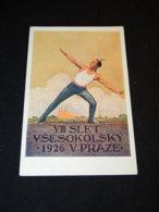 Sokol Simunka Slet Vsesokolsky VIII Praze 1926__(23023) - Postkaarten