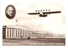 DO-X über Der Dornier Werft Altenrhein - Tag Der Aerophilatelie 2003 - SG St. Gall