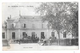 SEMUR - La Gare (défaut) - Semur