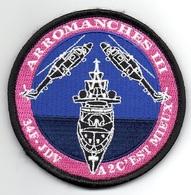 AERONAVALE Patch Flottille 34F Mission ARROMANCHES III Frégate JEAN DE VIENNE - Ecussons Tissu