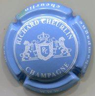 CAPSULE-CHAMPAGNE CHEURLIN Richard N°08x Bleu Ciel & Blanc-NR - Champagne