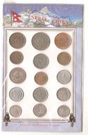 Nepal - Souvenir Sheet - 15 Monete Differenti - Népal