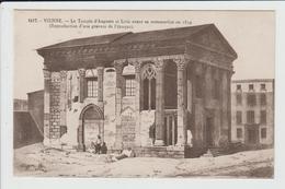 VIENNE - ISERE - LE TEMPLE D'AUGUSTE ET LIVIE AVANT SA RESTAURATION - Vienne