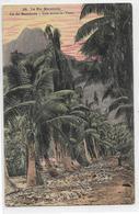 Rare LE PIC MATAINUA -ILE DE BORABORA- ILES SOUS LE VENT- Circulèe En 1912 Pour PARIS Timbre OCEANIE N° 4- 5c  VERT - Tahiti