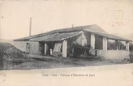 D-18-4119 :   CALVI. FABRIQUE D'EBAUCHONS DE PIPES. - Calvi