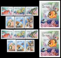 SOUTH VIETNAM 2000  YT N° 1907-1912 +nd +BF 106 **  Mi# 3076-3081 + Block 126 MNH - Viêt-Nam