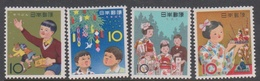 Japan SG890-893 1962 National Festivals, Mint Never Hinged - Unused Stamps
