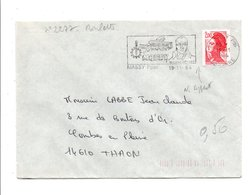 FLAMME NICOLAS APPERT MASSY ESSONNE 1984 - Postmark Collection (Covers)