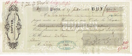 Mandat 1852 PARIS - DOPTER - Editeur D'estampes - France