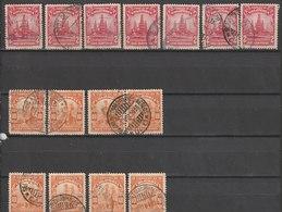MiNr. 367 - 368  Kolumbien 1935. Freimarken: Industrie; Druckvermerk AMERICAN BANKNOTE CO. - Kolumbien