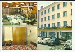 """43 . LE PUY EN VELAY . CARTE DE VISITE DE L HOTEL RESTAURANT BAR  LOGIS DE FRANCE """" LA VERVEINE """" PROP. """" MATHIEU """" . - Le Puy En Velay"""
