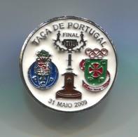 FOOTBALL / SOCCER / FUTBOL / CALCIO - Final Cup Portugal, FC PORTO Vs P. FERREIRA, Pin, Badge, Abzeichen - Football