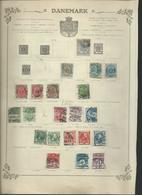 SCANDINAVIE Et PAYS BALTES. 19 Anciennes Pages D'album, Lot à Trier. - Stamps