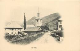 CHATEL - Vue Générale , église. - Châtel