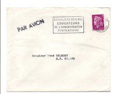 FLAMME EDUCATEURS DE L'ADMINISTRATION PENITENCIERE PARIS 1968 - Oblitérations Mécaniques (flammes)