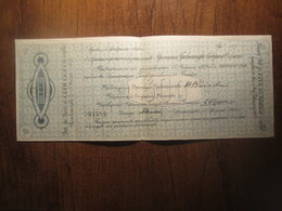 1919 NORTH RUSSIA 500 ROUBLES LARGE BANKNOTE - Russie