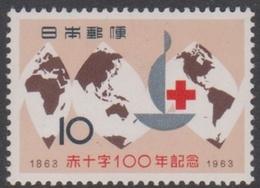 Japan SG925 1963 Centenary Of Red Cross, Mint Never Hinged - 1926-89 Emperor Hirohito (Showa Era)