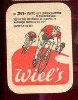 Cyclisme Sous Bock  Vélodromme De Charleroi - Beer Mats