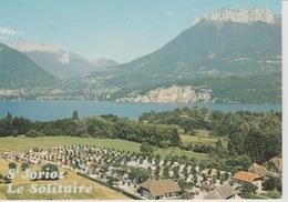 """1812/ 280  - LAC  D'ANNECY  - SAINT-JORIOZ  ( 74 )  CAMPING  """" LE  SOLITAIRE  """"  C. P M. - Annecy"""