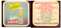 Expo 58 Sous Bock   Aalst - Sous-bocks